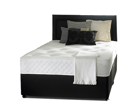Gel Comfort Small double Divan + Headboard