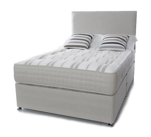 1000 Ortho Small Double Divan With Headboard