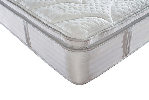 1000 Geltex pillowtop Single mattress