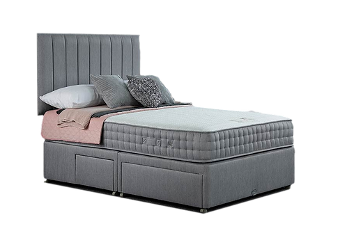 Aloe 2000 King Size Divan + Headboard