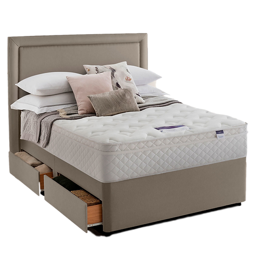Silentnight Miracoil Single mattress & designer base