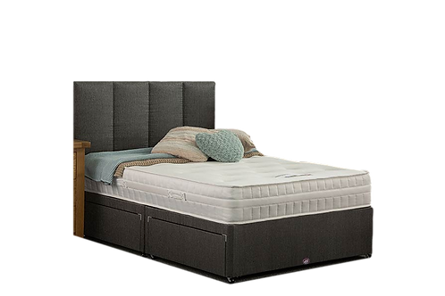 Memory Foam Ortho King Size Divan +Headboard