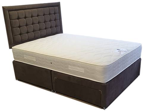 Visco Support Double Divan + Headboard