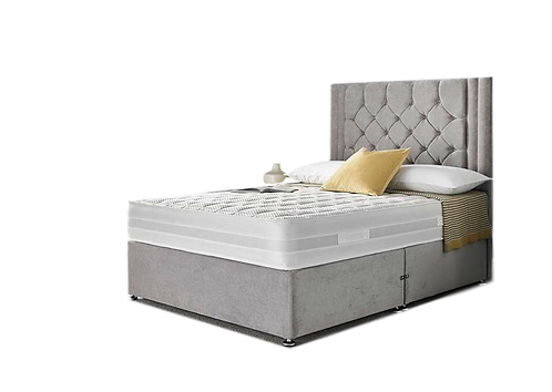 Chloe Deluxe Single Divan + Headboard