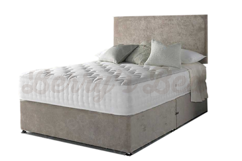 Cool Touch Memory Small Double Divan + Headboard