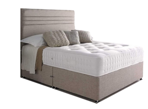 Eco Luxury 1000 Small Double Divan + Headboard