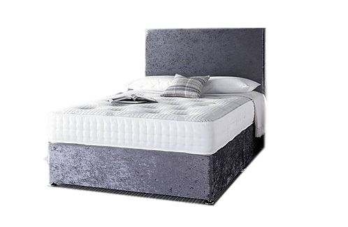 1000 memory Small double Divan + Headboard