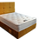Thumbnail: Pillowtop Plush Super King Size Divan + headboard