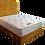 Thumbnail: Pillowtop Plush King Size Divan + headboard