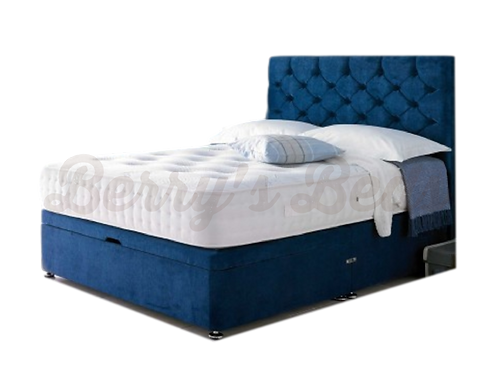 Monti 1500 Small Double divan +Headboard