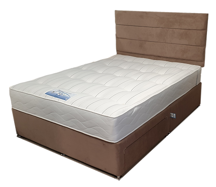 Sealy Posturepedic Double Mattress on designer Divan base