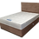Thumbnail: Sealy Posturepedic Double Mattress on designer Divan base