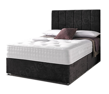 2000 Empire King Size Divan + Headboard