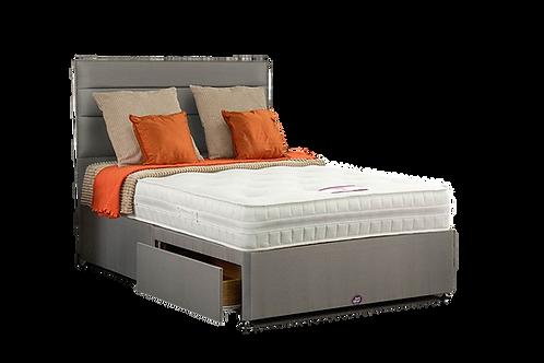 Sleepzone Gel Super King Size Divan + Headboard