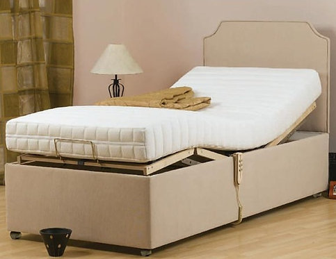 Adjustable bed small single size 2ft 6""