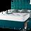 Thumbnail: 1000 Floatex Small Double Divan + Headboard