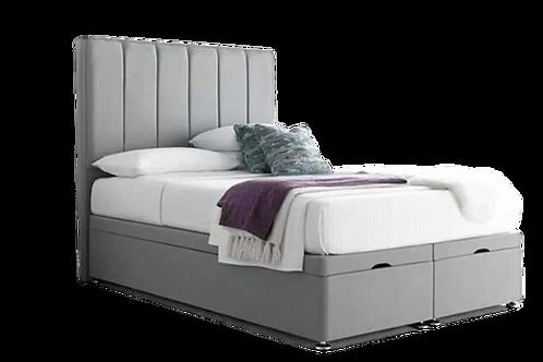 Empire End Lift Ottoman with mattress & Headboard