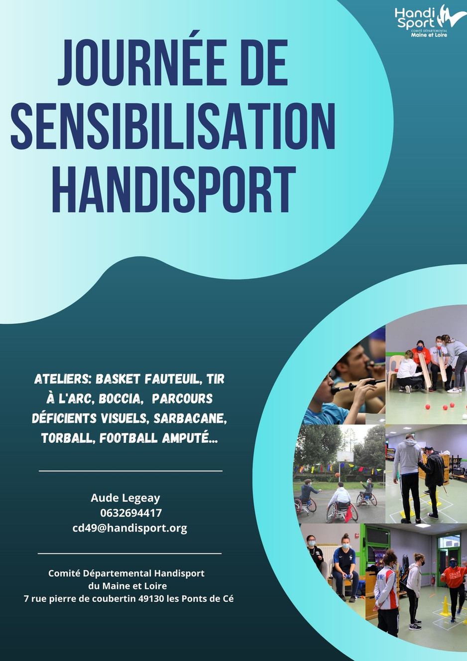 Journée de sensibilisation au HANDISPORT