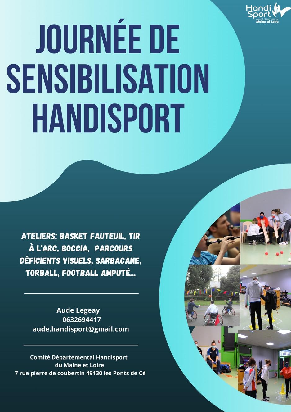Journée sensibilisation au HANDISPORT