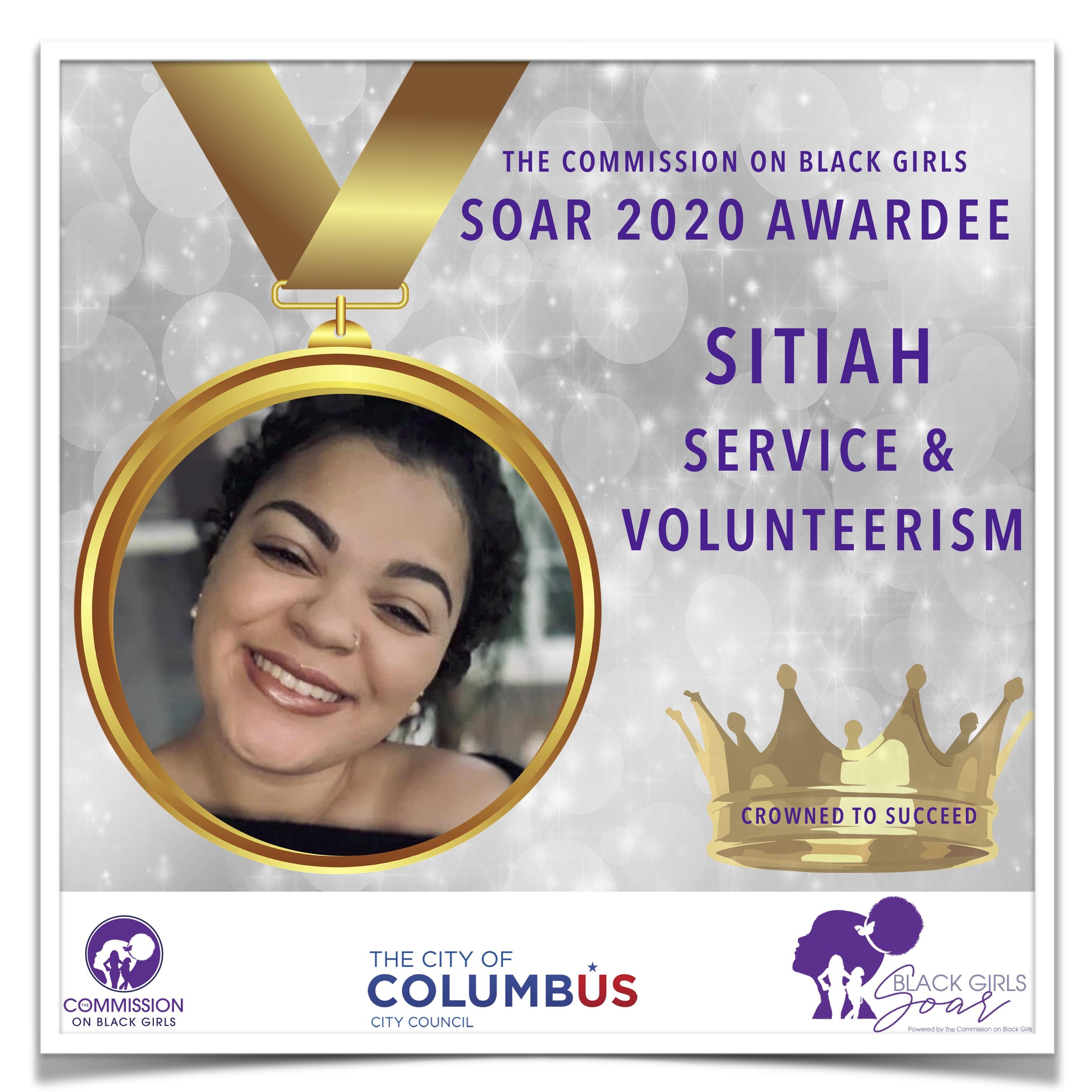 20 SOAR 2020 Sitiah Service and Voluntee