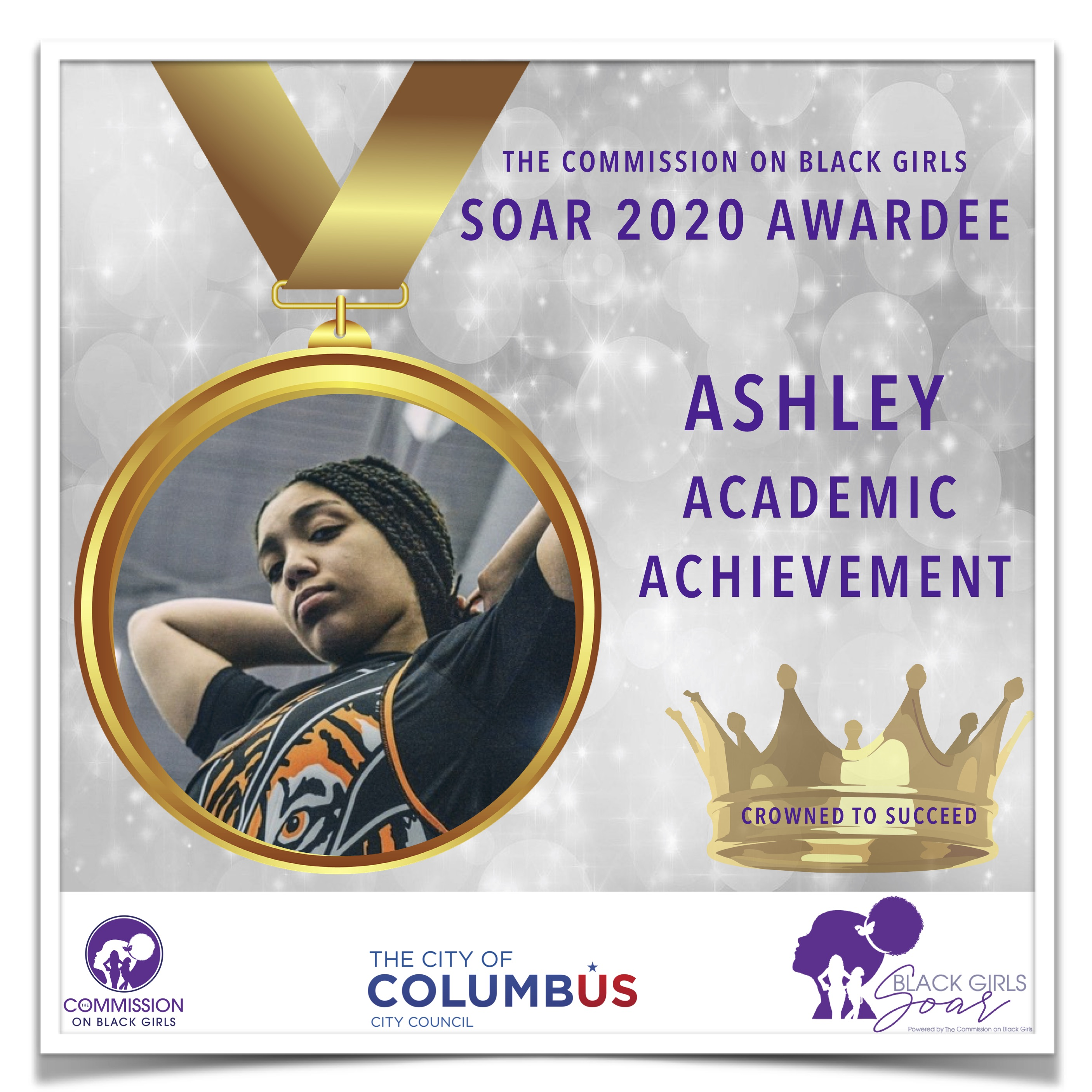 23 SOAR 2020 AshleyAcademic Achievement.