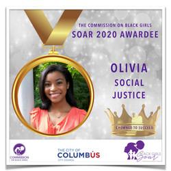 22 SOAR 2020 Olivia Social Justice