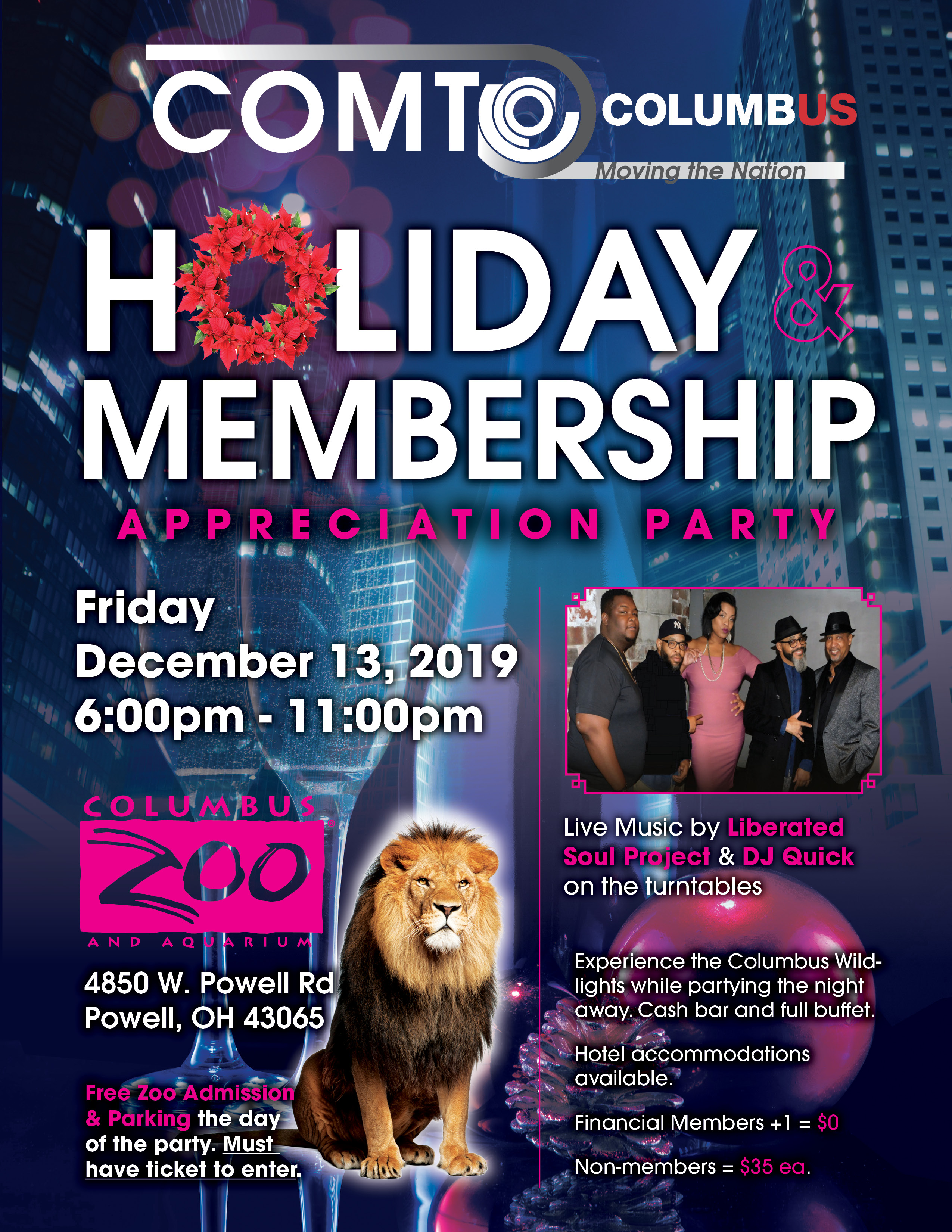 COMTO 2019 Holiday Flyer