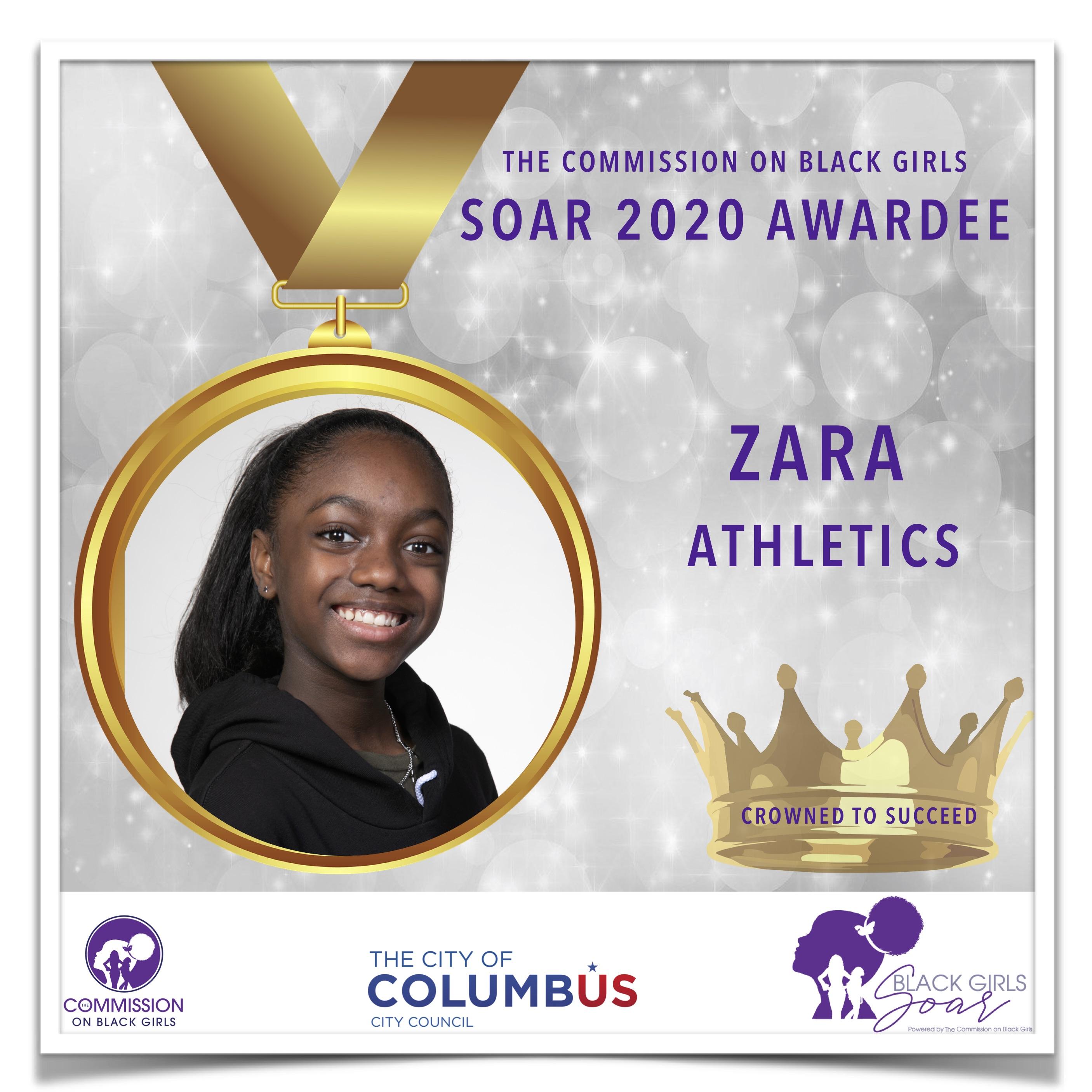 10 SOAR 2020 Zara Athletics
