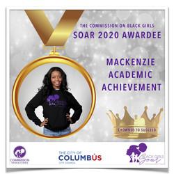 12 SOAR 2020 Mackenzie Academic Achievem