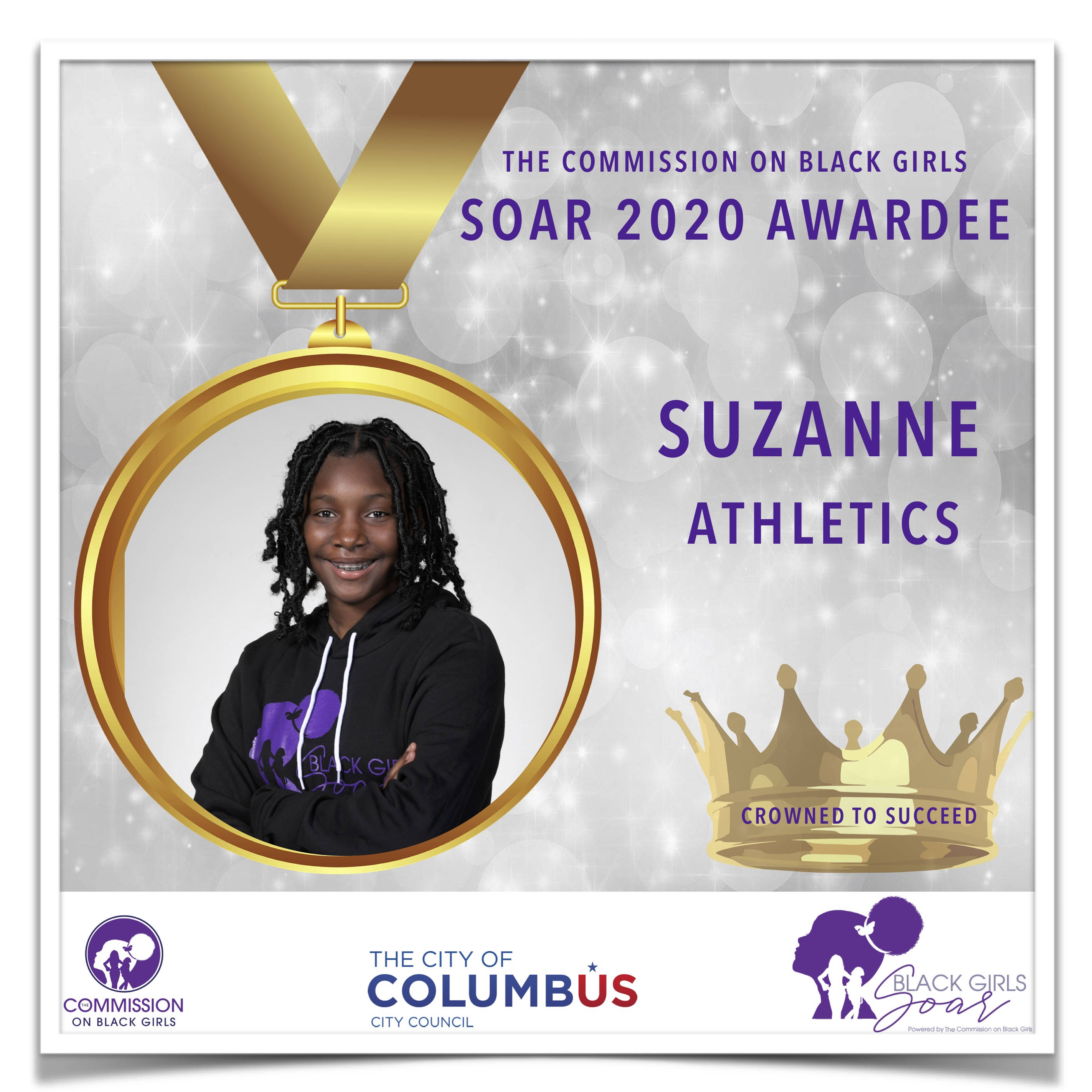 8 SOAR 2020 Suzanne Athletics