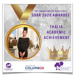 21 SOAR 2020 Thalia Academic Achievement