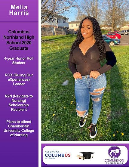 J V3 FINAL Melia Harris 2020 Girl Grads