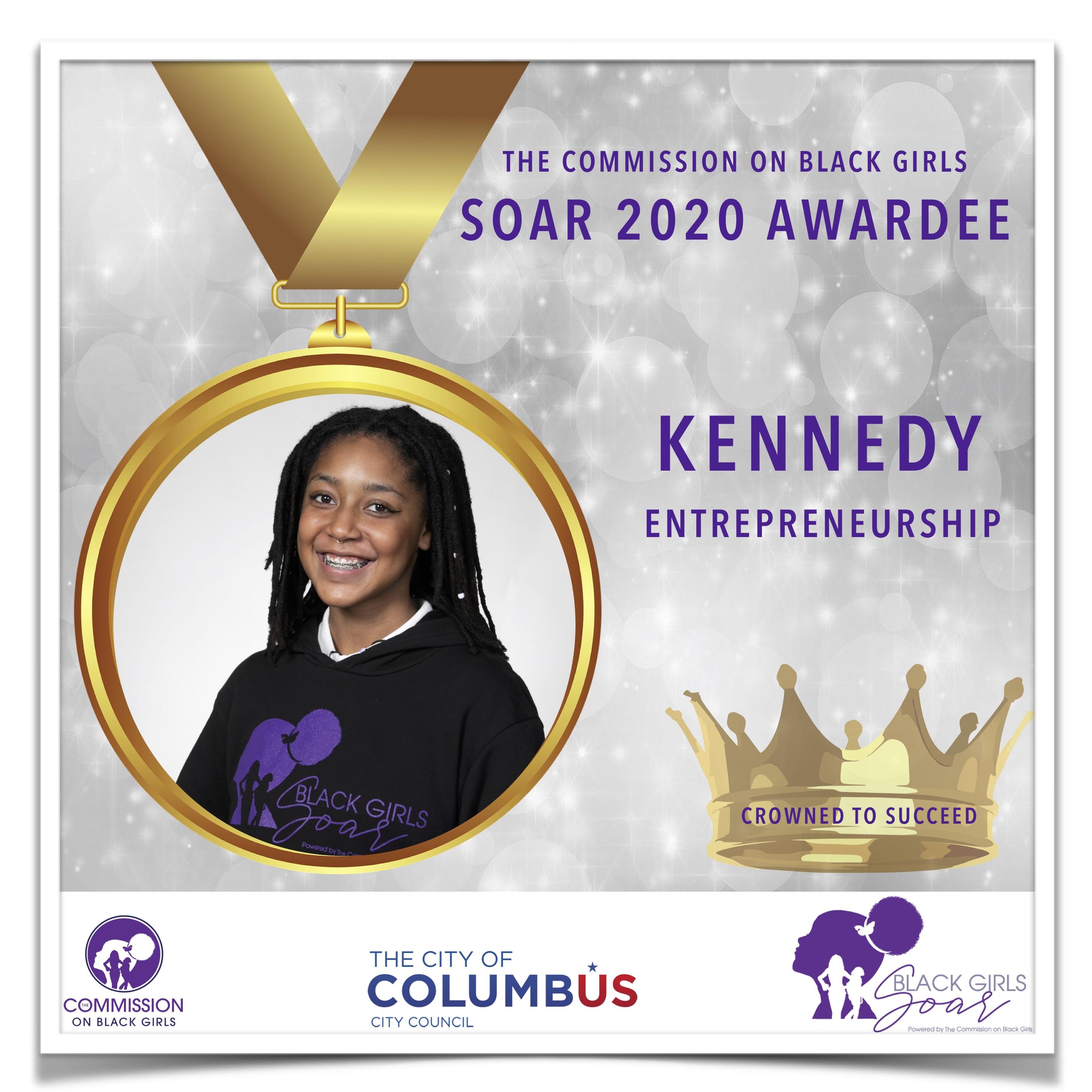 15 16 SOAR 2020 Kennedy Entrepreneurship