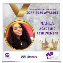 24 SOAR 2020 Nahla Academic Achievement.