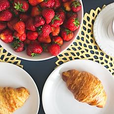 Plain Butter Croissant - Half Dozen