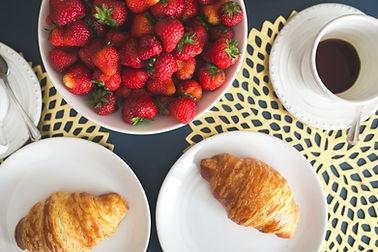 Café da manhã continental