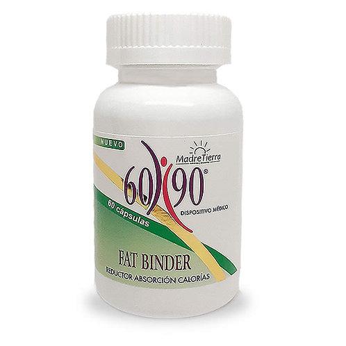 6090 Fat Binder reducción de absorción de calorías y grasa | Madretierra