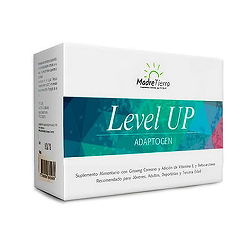 Level Up energía 100 % natural | Madretierra