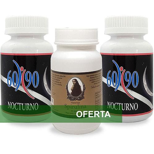 Set 6090 Nocturno + Spirulina