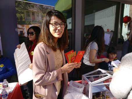 Palo Alto Chinese New Year fair was a great success!