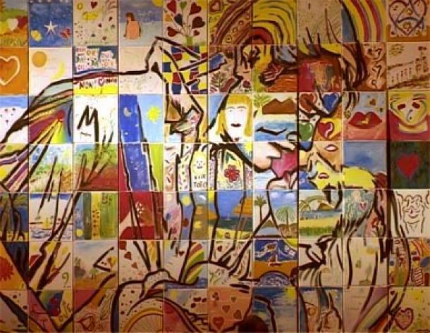 Création d'une fresque