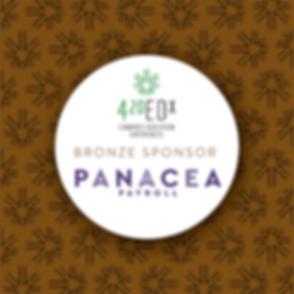 Panacea Payroll Bronze Sponsorship July