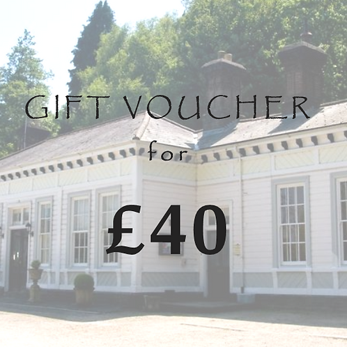 £40 Gift Voucher for The Old Station