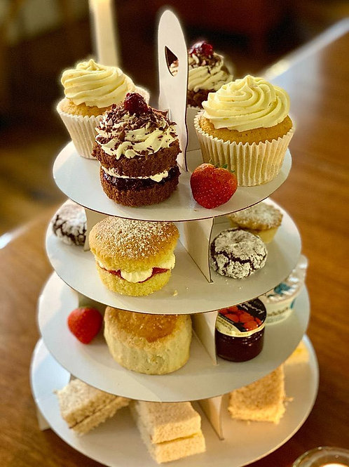Gluten Free Afternoon Tea for Two People to Take Away