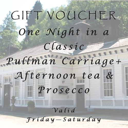 One nights stay at the weekend with Afternoon Tea & Prosecco