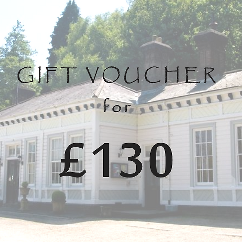£130 Gift Voucher for The Old Station