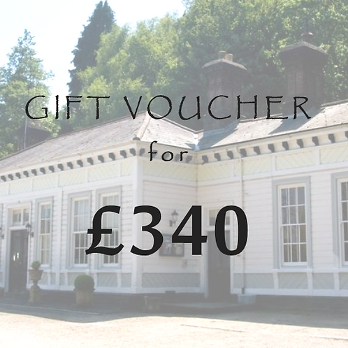 £340 Gift Voucher for The Old Station