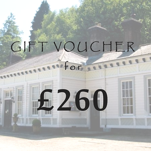 £260 Gift Voucher for The Old Station
