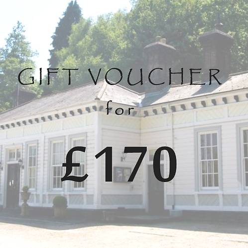£170 Gift Voucher for The Old Station
