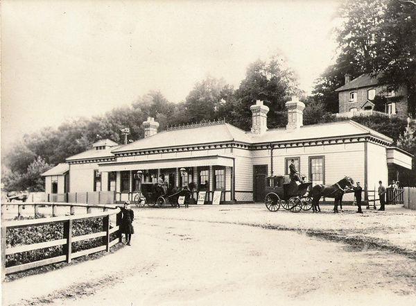 Petworth Railway Station 1982